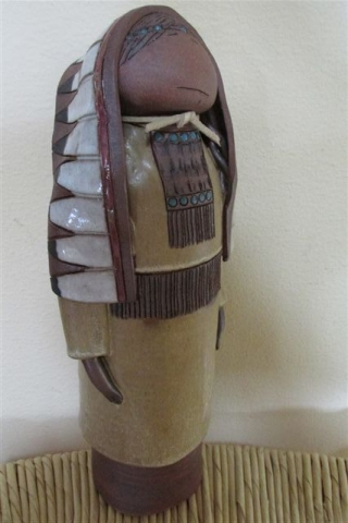 Indian Chief Figurine